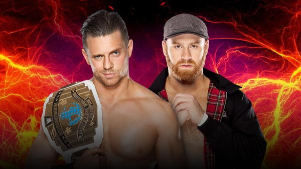 Intercontinental Champion The Miz vs. Sami Zayn