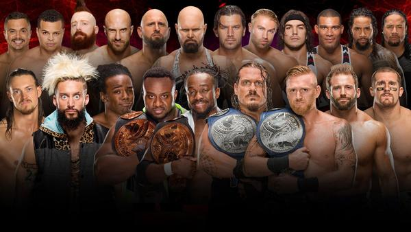 Team Raw vs. Team SmackDown LIVE in a 10-on-10 Traditional Survivor Series Tag Team Elimination Match