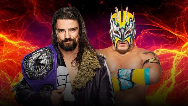 WWE Cruiserweight Champion The Brian Kendrick vs. Kalisto