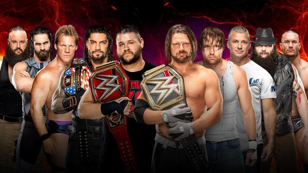 Team Raw vs. Team SmackDown LIVE in a 5-on-5 Traditional Survivor Series Men's Elimination Match